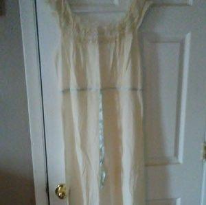 Vintage linen gown